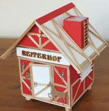 """Explosionsbox """"Fachwerk - Reiterhof"""""""