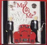 """Hochzeit Männer """"Mr. & Mr. 3"""""""