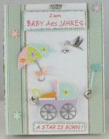 """Geburt """"Baby des Jahres"""""""