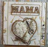 """Grußkarte """"Danke Mama"""""""
