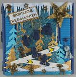 """Sportliche Weihnachten """"Ski"""""""