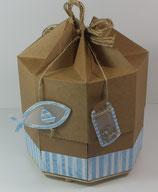 "Origami-Explosionsbox Geburt/Taufe ""Glaube, Hoffnung,Liebe"""