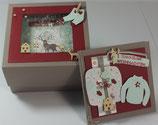 """Geschenkbox """"Schneefenster"""""""