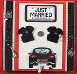 """Hochzeit Männer """"Just Married Mr & Mr."""""""