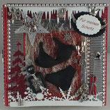 """Weihnachtskarte """"Dessous & Parfüm"""""""