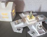 """Explosionsbox """"Adventskalender Lichthaus"""""""