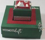 """Geschenk- und Explosionsbox """"Weihnachtsmarkt"""""""