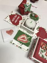 """Geschenkset """"Alles Liebe - Erdbeeren"""""""