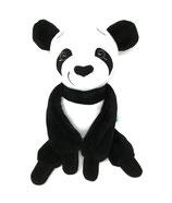 Personalisiertes großes Kuscheltier Panda Bär, 45cm