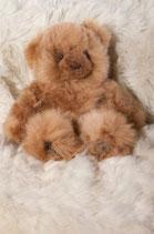 Baby Alpakabär mittel, ca. 27cm