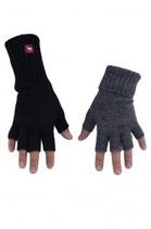 Halbfinger Alpaka Handschuh