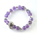 "Mutter-Kind-Set ""Amethyst"" mit Tierperle"