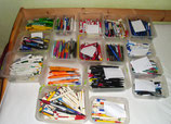 Sammlung von Kugelschreiber
