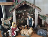 Krippe zu Weihnachten