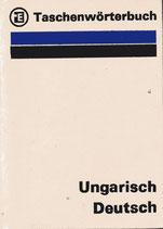 Taschenwörterbuch Ungarisch - Deutsch