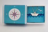 Halskette großes Schiffchen