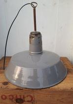 VENDUE Suspension en tôlé émaillée grise