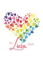"""Fotodruck A4 """"Die Liebe bleibt"""""""