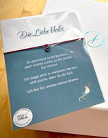 "Trostarmband ""Die Liebe bleibt"" - Hope's Angel Collection"