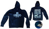 "SIMON´S CUSTOM ""SIMON SAYS"" ZIP HOODY"
