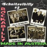 "7"" EP - Various Artists SCHNITZELBILLY VOL. 3 ""Rockabilly Made in Austria"""