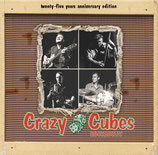 "CD - CRAZY CUBES ""Rockabilly 25 Years"""
