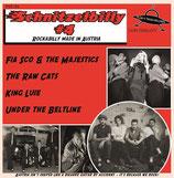 "7"" EP - Various Artists SCHNITZELBILLY VOL. 4 ""Rockabilly Made in Austria"""