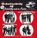 "7"" EP - Various Artists SCHNITZELBILLY VOL. 6 ""Rockabilly Made in Austria"""