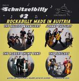 "7"" EP - Various Artists SCHNITZELBILLY VOL. 1 ""Rockabilly Made in Austria"""