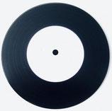 """Vinyl Einzelschnitt 5"""" Schallplatte 45 rpM (max. 1,5 Min./Seite)"""