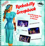 "7"" EP - ROCKABILLY SCRAPBOOK ""Great Rockabilly Acts Live in Austria"" limited (150 pcs blue Vinyl) Edition"