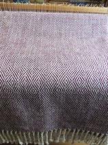 Handgewebte Wolldecke