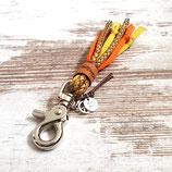 Schlüsselanhänger ★Vagabond★ Poppy Orange