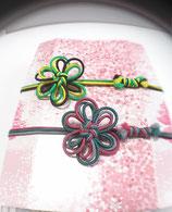 御朱印帳留め オーダーメイド 外した時はブレスレットみたいに メドゥプ花結び飾り結び