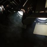 Halogenscheinwerfer 500W - Stufenlinse Fresnel