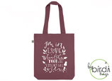 "Shopper ""healthy food, essential oils"" berry, *limited edition*"