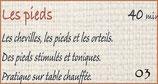 """03 """"A Fleurs de Peau"""" Les Pieds"""