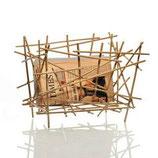 Alessi Portariviste Blow Up Bamboo | Acciaio SCONTO 10%