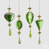 EDG Decorazione Jewel | Verde/Oro