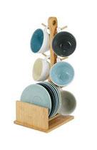Present Time Set Cappuccino Tree Con Stand Bamboo | sconto 10%