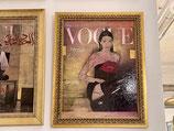 Quadro Vogue Kiss Riccardo Raul Papavero