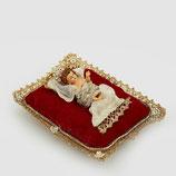 EDG Gesù Bambino Con Cuscino Rosso | SOCNTO 20%