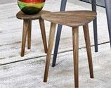 Gervasoni Tavolino Brick Triangolare Noce Canaletto | sconto 30%