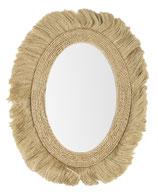 Specchio Con Piume 80x101