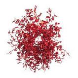Corona Eucalyptus Glitter Rosso