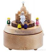 Carillon In Legno Celebrazione Papa Francesco