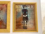 Quadro Vogue Coco Chanel Riccardo Raul Papavero