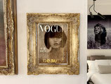 Quadro Vogue Beauty Riccardo Raul Papavero