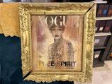 Quadro Vogue Free Spirit Riccardo Raul Papavero