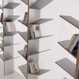 Libreria Bronzo/Noce | sconto 30%